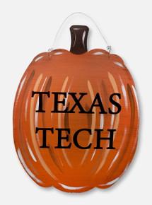 "Texas Tech Red Raiders ""Pumpkin"" Metal Sign"