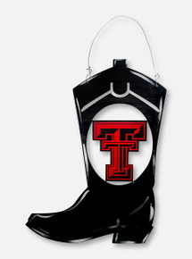 """Texas Tech Red Raiders""""Boots"""" Metal Sign"""