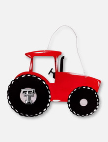 "Texas Tech Red Raiders ""Tractor"" Metal Sign"