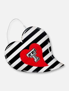 "Texas Tech Red Raiders ""Heart"" Metal Sign"