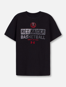 """Under Armour Texas Tech Red Raiders """"Lockdown"""" YOUTH Short Sleeve T-Shirt"""