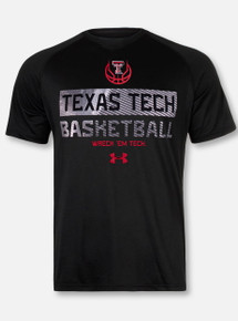 "Under Armour Texas Tech Red Raiders ""Jab Step"" Short Sleeve T-Shirt"