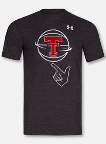 "Under Armour Texas Tech Red Raiders ""Guns Up Spin"" Triblend Short Sleeve T-Shirt"