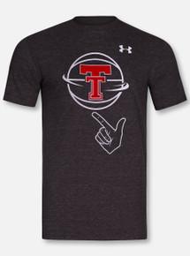 "Under Armour Texas Tech Red Raiders ""Guns Up Spin"" Triblend Short Sleeve T-Shirt"