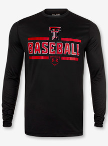"Under Armour Texas Tech Red Raiders ""Fast Ball"" Long Sleeve T-Shirt"