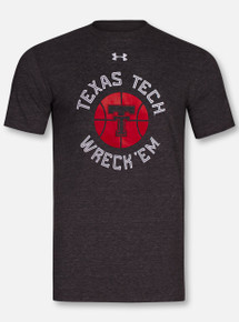 """Under Armour Texas Tech Red Raiders """"Box Out"""" Triblend T-Shirt"""