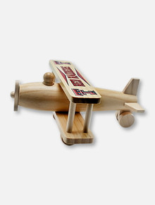 Texas Tech Red Raiders Texas Tech Double T Wooden Plane