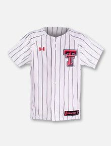 Under Armour Texas Tech Red Raiders  YOUTH Baseball Jersey