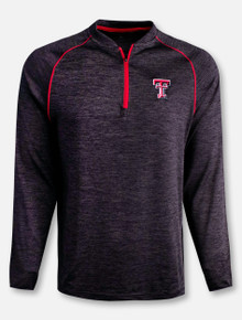"Arena Texas Tech Red Raiders Double T ""Dunedin"" 1/4 Zip Pullover"