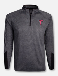 "Arena Texas Tech Red Raiders Double T ""Tasmania"" 1/4 Zip Pullover"
