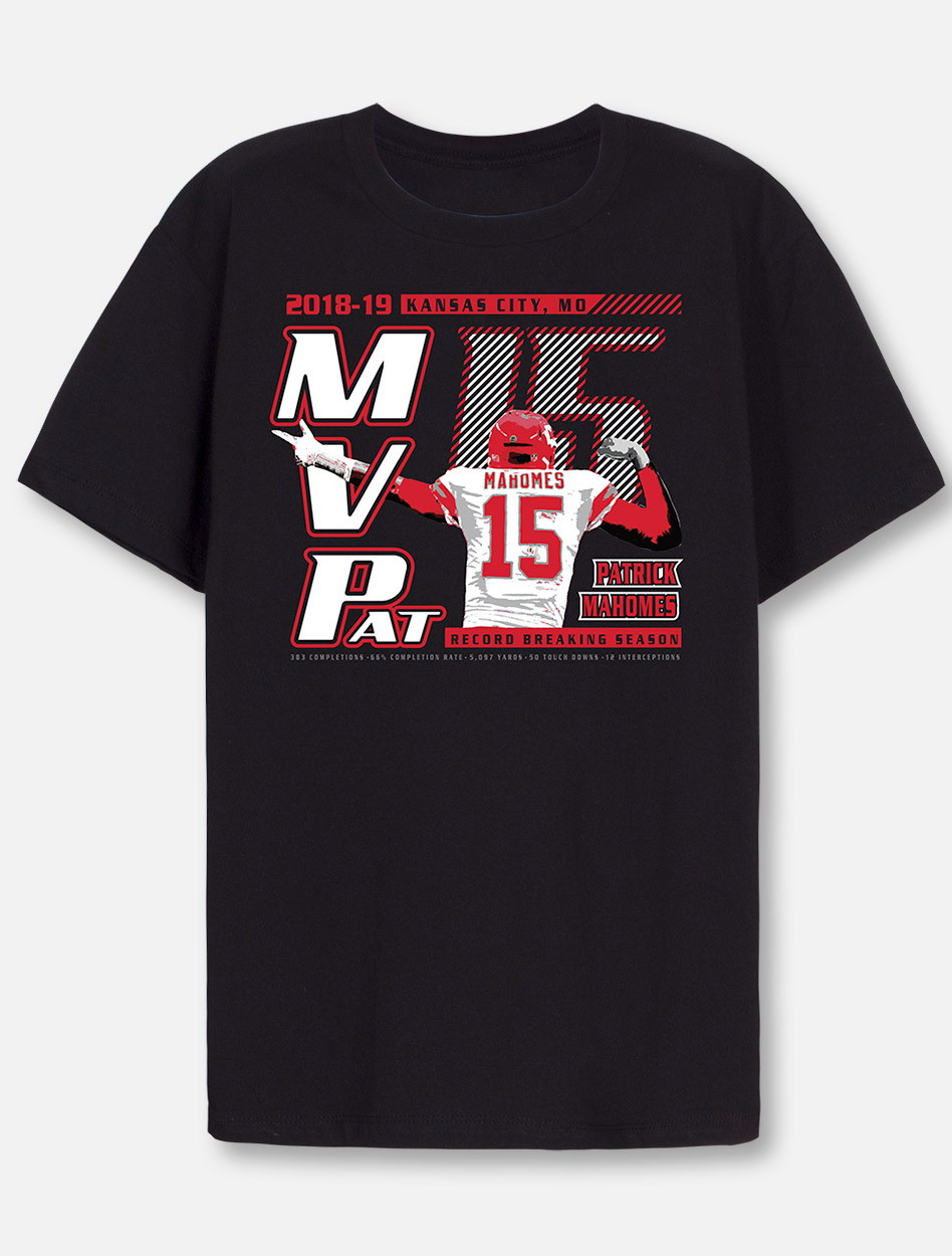 Cheap Kansas City Chiefs MVPat Mahomes NFL MVP YOUTH T Shirt  supplier