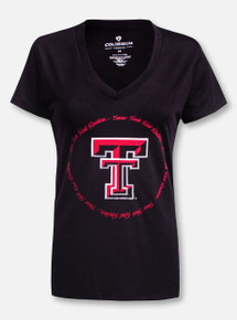"Arena Texas Tech Red Raiders Double T ""Parma"" V-Neck T-Shirt"
