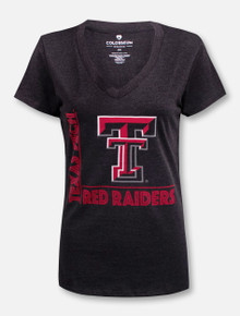 """Arena Texas Tech Red Raiders Double T """"Salerno"""" V-Neck T-Shirt"""