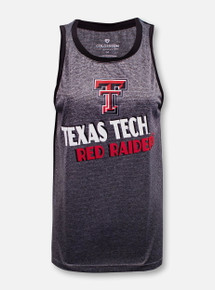 """Arena Texas Tech Red Raiders Double T """"Bayonne"""" Muscle Tank Top"""