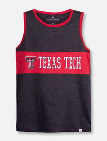 "Arena Texas Tech Red Raiders Double T YOUTH ""Quebec"" Tank Top"