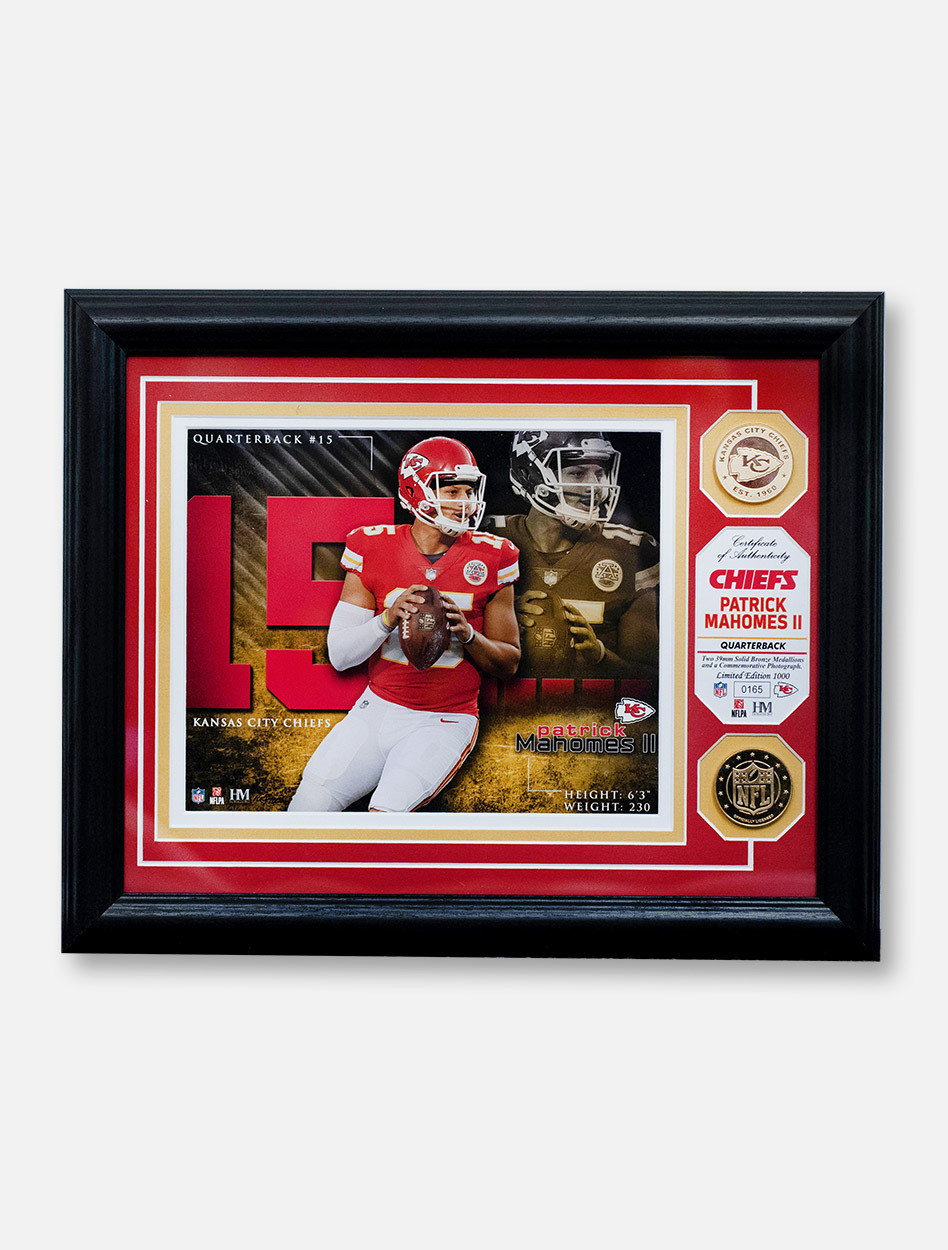 2534a743583 Kansas City Chiefs Patrick Mahomes II Authentic Gold Coin Player 13 ...