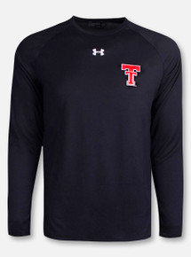 """Under Armour Texas Tech Red Raiders """"Classic Throwback Sideline"""" Long Sleeve T-Shirt"""