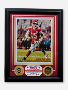 Kansas City Chiefs Patrick Mahomes Authentic 2018 NFL MVP 13'' x 16'' Bronze Coin Photo Frame