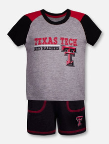 "Arena Texas Tech Red Raiders Double T ""Brant"" INFANT Shirt and Short Set"