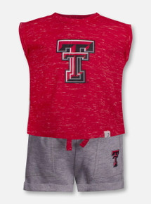 "Arena Texas Tech Red Raiders Double T ""Essen"" INFANT Shirt and Short Set"