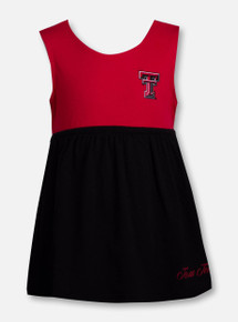 """Arena Texas Tech Red Raiders Double T """"Berlin"""" INFANT Dress"""