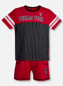 "Arena Texas Tech Red Raiders Double T ""Halifax"" TODDLER Shirt and Short Set"