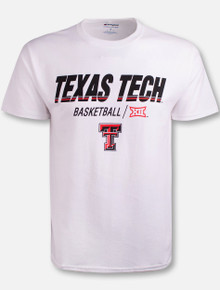 "Champion Texas Tech Red Raidres Double T ""Center Court"" Basketball T-Shirt"