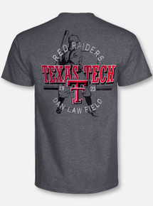 "Texas Tech Red Raiders Double T ""Pennant Chase"" Baseball T-Shirt"
