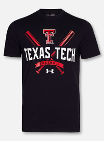 "Under Armour Texas Tech Red Raiders Double T "" Base Runner"" T-Shirt"
