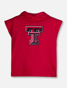 """Arena Texas Tech Red Raiders Double T """"Krems"""" YOUTH Hooded Sleeveless T-Shirt"""