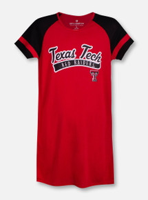 """Arena Texas Tech Red Raiders Double T """"Vienna"""" YOUTH Dress"""