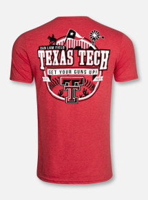 "Texas Tech Red Raiders Double T ""Iconic"" Baseball T-Shirt"