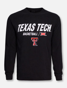 "Champion Texas Tech Red Raiders Double T ""Center Court"" Basketball Long Sleeve T-Shirt"