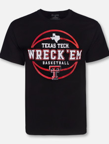 Champion Texas Tech Red Raiders Wreck 'Em Basketball T-Shirt