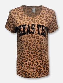 Texas Tech Red Raiders Classic Flocked Arch T-Shirt
