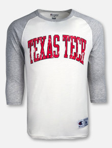 "Champion Texas Tech Red Raiders ""Rochester Arch"" Baseball Tee"