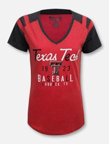 "Champion Texas Tech Red Raiders ""Sophomore"" V-Neck"