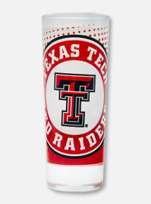 Texas Tech Red Raiders Double T Dotted Shooter Shot Glass