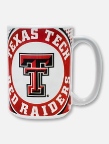 Texas Tech Red Raiders Double T Dotted Coffee Mug