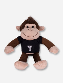Plush Monkey in Tech T-Shirt