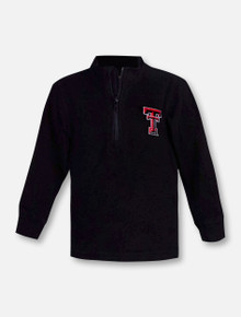 """Wes & Willy Texas Tech Red Raiders Double T 1/4 """"Zip Top"""" TODDLER Pullover"""