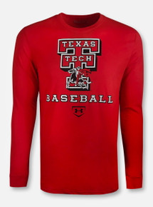 "Under Armour Texas Tech Red Raiders "" Heritage Baseball"" Long Sleeve"