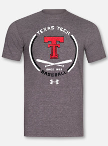 """Under Armour Texas Tech Red Raiders """"In The Dugout"""" Short Sleeve Triblend"""