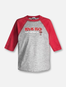 Texas Tech Red Raiders Double T TODDLER Baseball T-Shirt