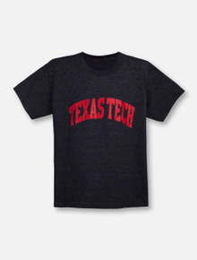 Texas Tech Red Raiders Classic Arch in Red YOUTH T-Shirt