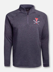 """Under Armour Texas Tech Red Raiders """"Around The Horn"""" Tech Terry 1/4 Zip"""
