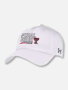 "Under Armour Texas Tech Basketball ""On the Court"" Final Four White Hat"