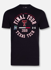 "Under Armour Texas Tech Basketball ""Chalk Talk"" Black Short Sleeve"