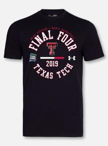 "Under Armour Texas Tech Basketball ""Chalk Talk"" Black Short Sleeve"