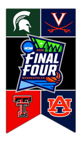 Texas Tech Red Raiders 2019 Final Four Banner Lapel Pin